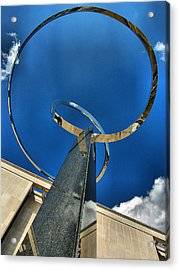 Infinity Take One Acrylic Print by Steven Ainsworth