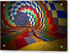 Inflating Acrylic Print by Rick Berk