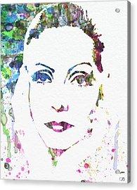 Ingrid Bergman  Acrylic Print by Naxart Studio