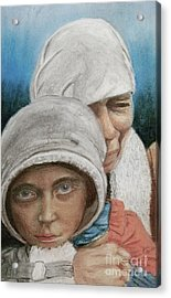 Inheritance Of Hate Acrylic Print by Jim Barber Hove