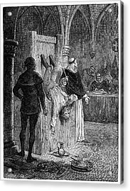 Inquisition: Torture Acrylic Print by Granger