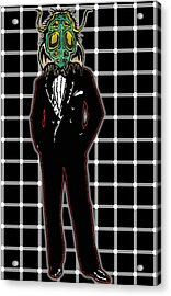 Insectoid Fashion 1 Acrylic Print by Travis Burns