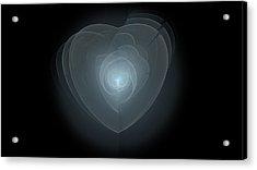 Inside A Scorned Heart Acrylic Print by Pennie Gibson