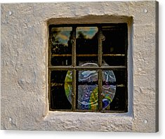 Inside Space Acrylic Print by Odd Jeppesen