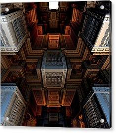 Inside The Box Acrylic Print by Ricky Jarnagin