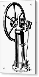 Internal Combustion Engine Acrylic Print by Granger
