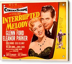 Interrupted Melody, Eleanor Parker Acrylic Print by Everett