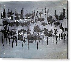 Interruption Acrylic Print by Eric Chapman