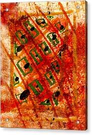 Intimate Window  Acrylic Print by Kimanthi Toure