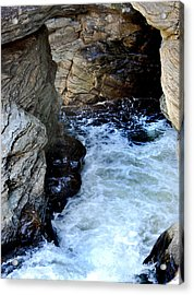Into The Abyss Acrylic Print by Skip Willits