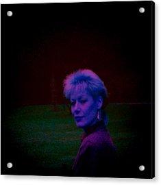 Into The Night Acrylic Print by Li   van Saathoff