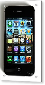 Iphone Acrylic Print by Photo Researchers