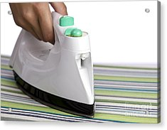 Ironing Acrylic Print by Blink Images