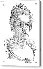 Isabel Florence Hapgood Acrylic Print by Granger