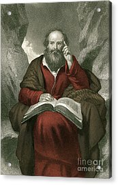 Isaiah, Old Testament Prophet Acrylic Print by Photo Researchers