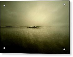 Island Of Mystic  Acrylic Print by JC Photography and Art