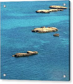 Islets Islands Acrylic Print by Judy Dunlop