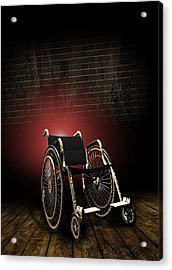 Isolation Through Disability, Artwork Acrylic Print by Victor Habbick Visions