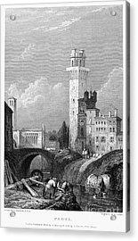 Italy: Padua, 1833 Acrylic Print by Granger