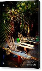 Its Margarita Time In Paradise Acrylic Print by Susanne Van Hulst