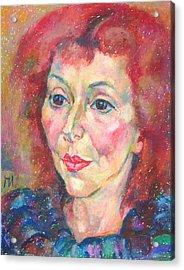 Ivanka Stoyanova Acrylic Print by Leonid Petrushin
