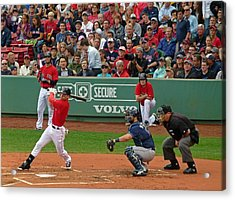 Jacoby Ellsbury Acrylic Print by Juergen Roth