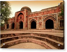 Jamali Kamali Mosque And Tomb Acrylic Print by Poonamparihar.com