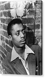 James Baldwin, 1953 Acrylic Print by Everett