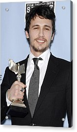 James Franco In The Press Room Acrylic Print by Everett