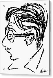 James Grover Thurber Acrylic Print by Granger
