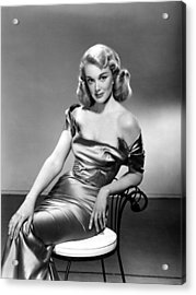 Jan Sterling, 1950s Acrylic Print by Everett