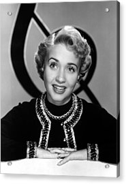 Jane Powell, Mgm, Early 1950s Acrylic Print by Everett