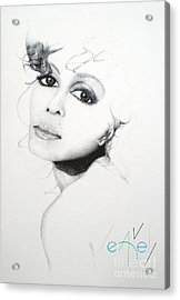 Janet J Acrylic Print by Bill Leavell