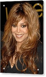 Janet Jackson At Arrivals For Cartier Acrylic Print by Everett
