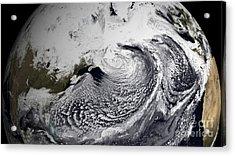 January 2, 2009 - Cloud Simulation Acrylic Print by Stocktrek Images