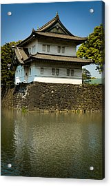 Japan Castle Acrylic Print by Sebastian Musial