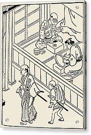 Japan: Samurai, 1700 Acrylic Print by Granger