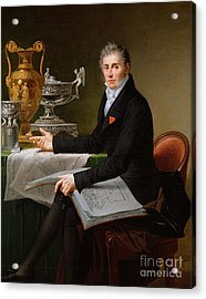 Jean-baptiste-claude Odiot Acrylic Print by Robert Lefevre