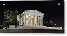Jefferson Memorial Acrylic Print by Metro DC Photography