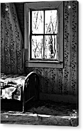 Jennys Room Acrylic Print by JC Photography and Art