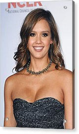 Jessica Alba At Arrivals For 2011 Nclr Acrylic Print by Everett
