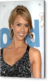 Jessica Alba At Arrivals For Premeire Acrylic Print by Everett