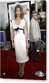 Jessica Biel At Arrivals For I Now Acrylic Print by Everett