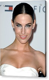 Jessica Lowndes At Arrivals For 17th Acrylic Print by Everett