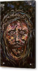 Jesus Christ Acrylic Print by David Nagel