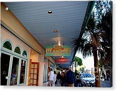 Jimmy Buffet's Margaritaville Key West Acrylic Print by Susanne Van Hulst