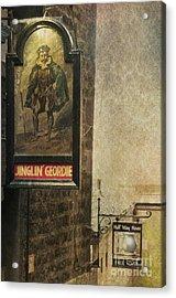 Jinglin' Geordie Acrylic Print by Marion Galt