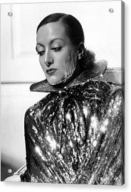 Joan Crawford, 1934, Photo By Hurrell Acrylic Print by Everett