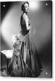 Joan Crawford, Circa Early 1950s Acrylic Print by Everett