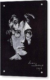 John Lennon Acrylic Print by Eamon Gilbert